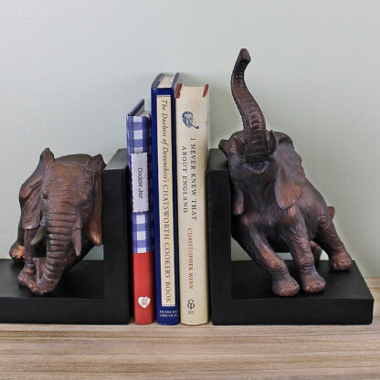 Decorative Bookends, Elephant Design